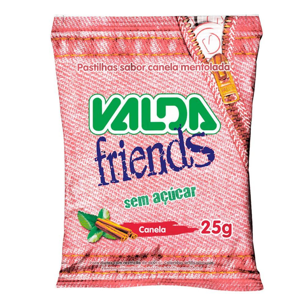 Pastilhas Friends canela