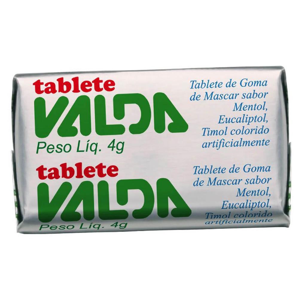 Chiclete em Tablete Valda