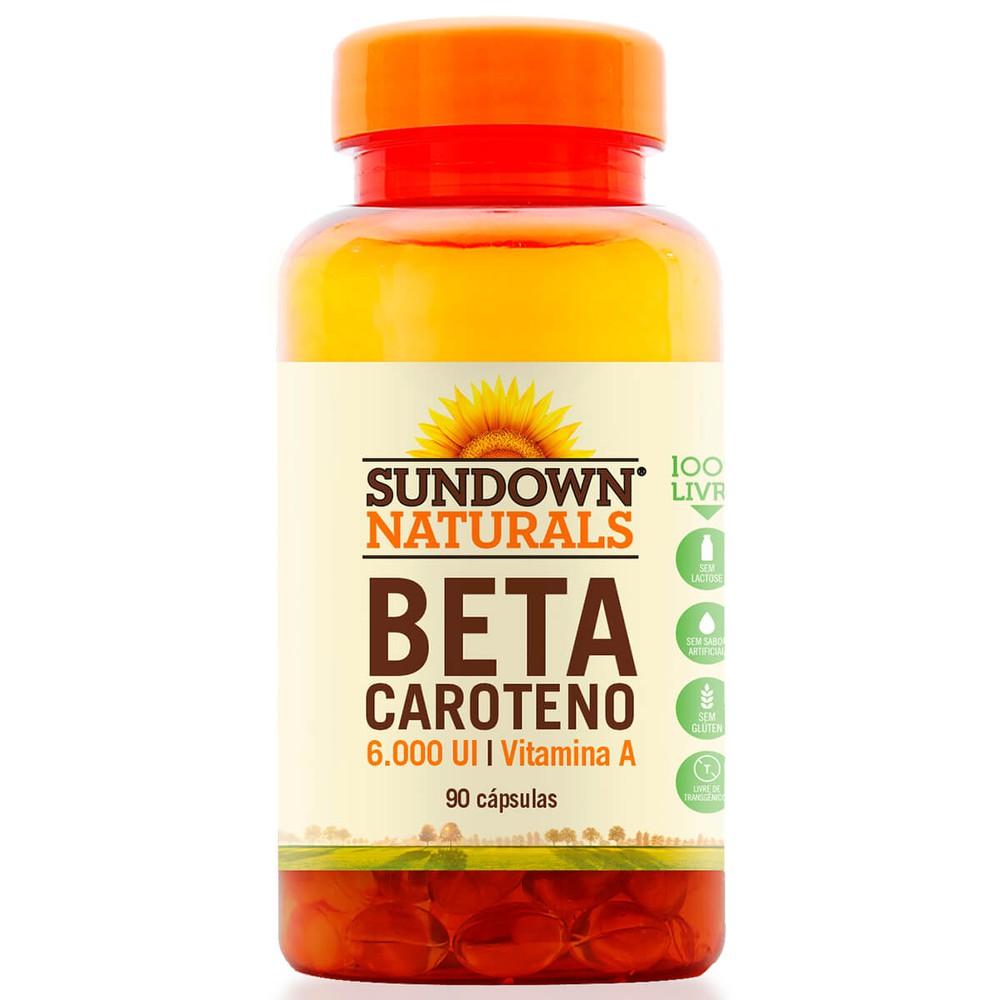 Beta Caroteno Sundown 6000UI