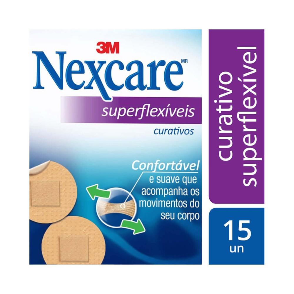 Curativo Nexcare superflexíveis redondas