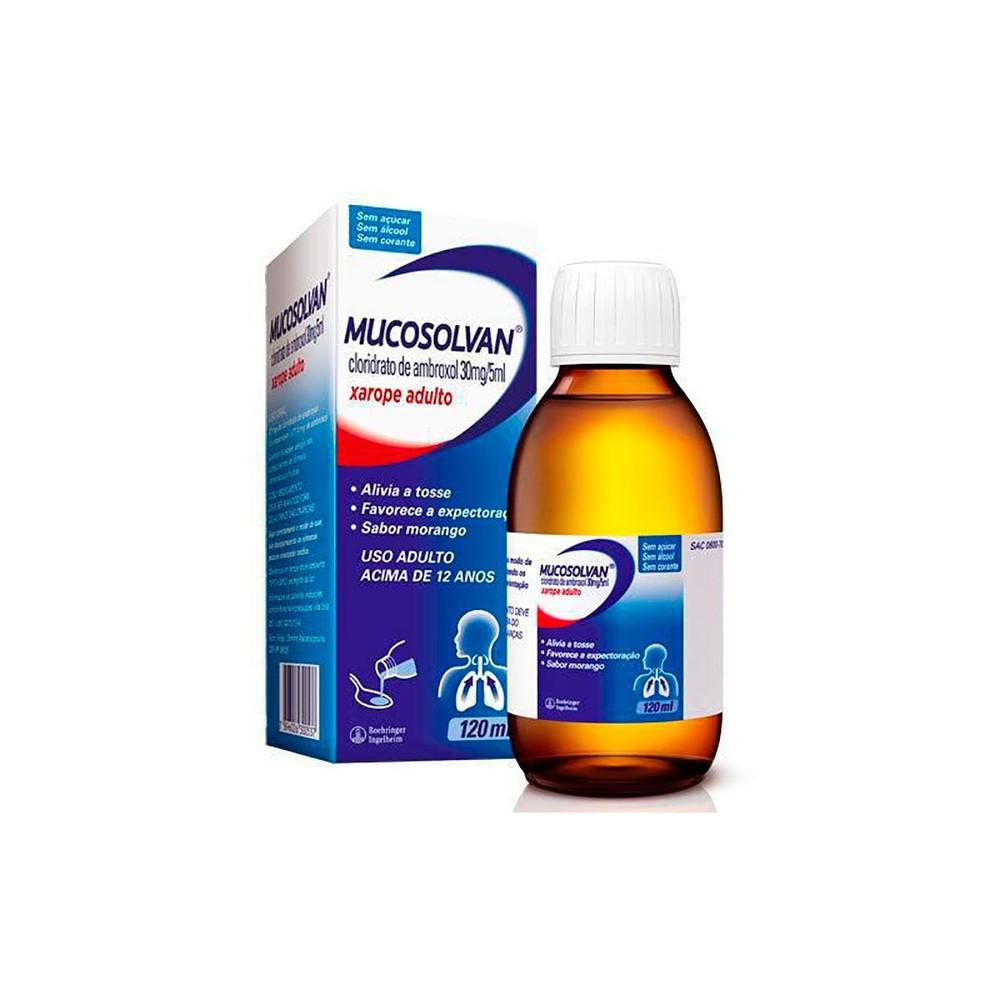 Xarope Mucosolvan Adulto 5mg/30ml