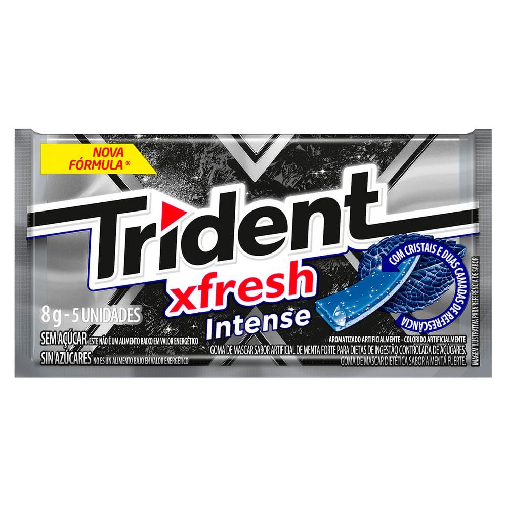 Goma de mascar sabor X fresh intense