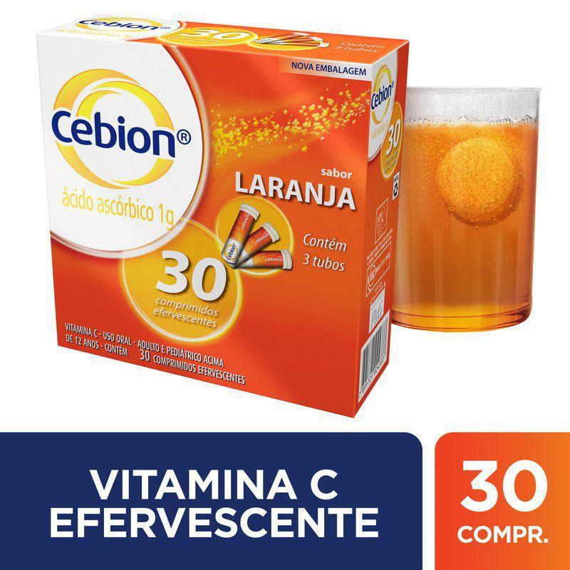 Cebion 1g sabor laranja