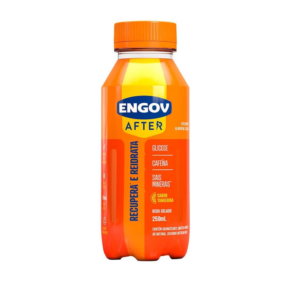 Bebida after sabor tangerina