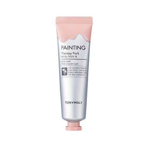 Mascarilla painting therapy piel sensible