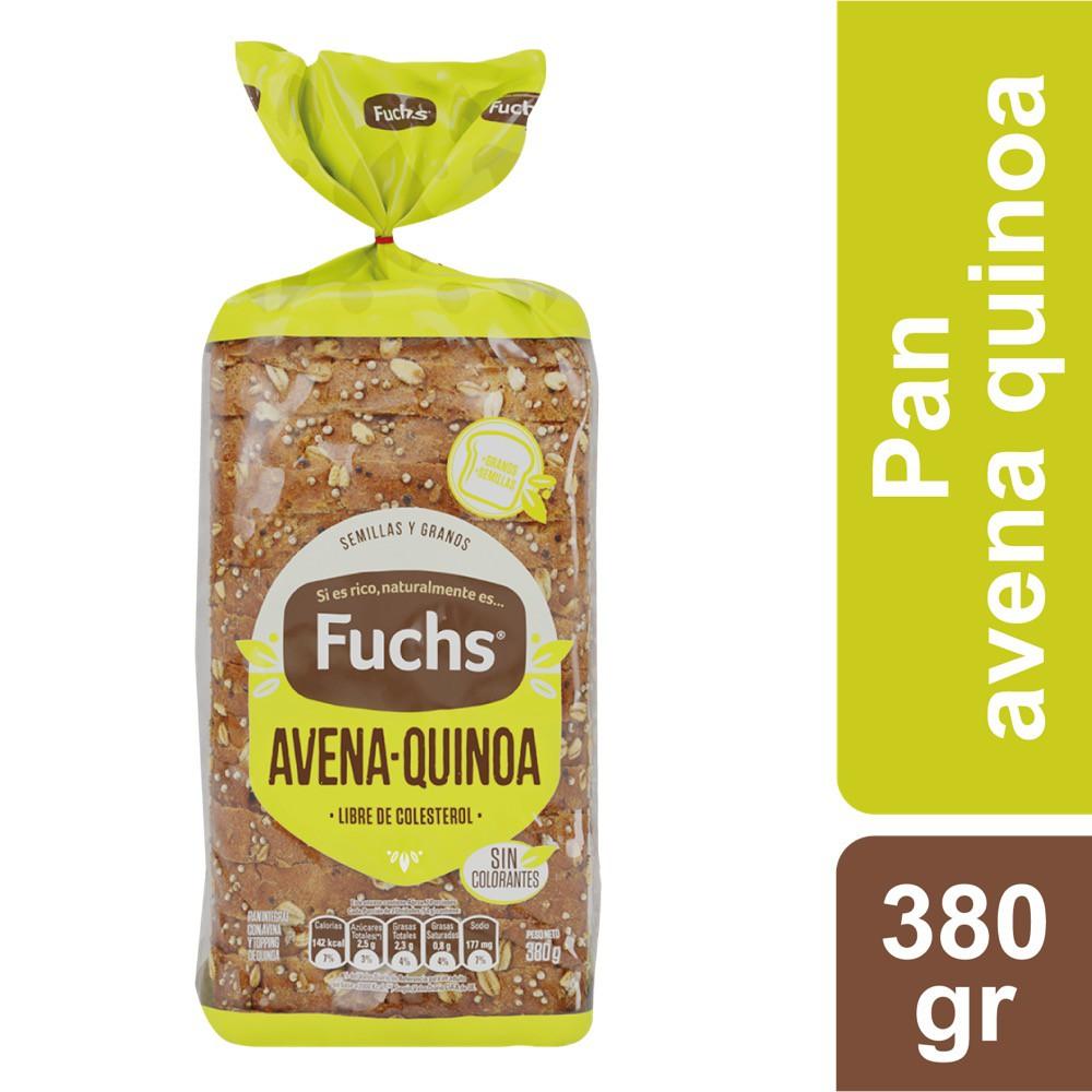Pan avena quinoa