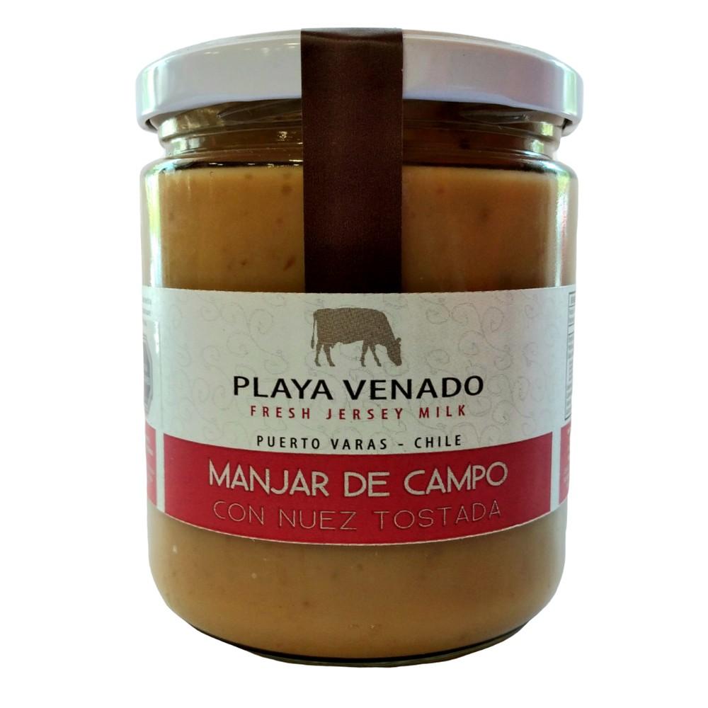 Manjar de Campo con Nuez de 550 grs frasco 500ml