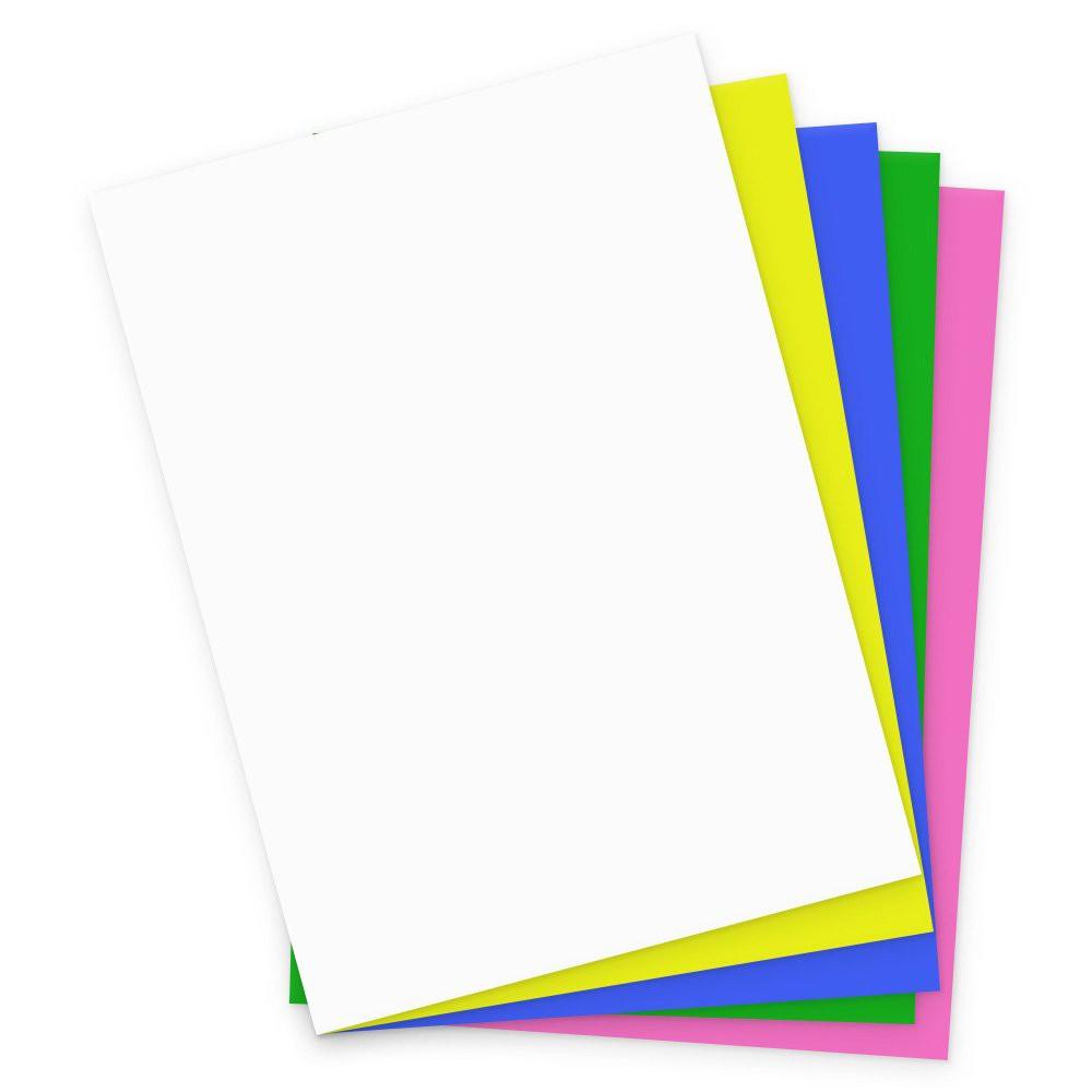 Cartolina 150g 50x66 cores mistas card set  Pacote 10 Unidade