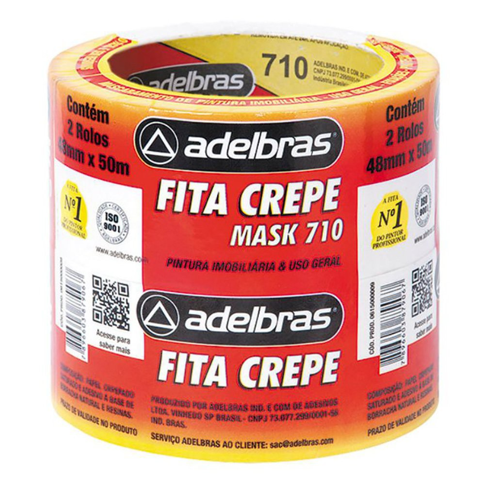 Fita crepe 48mmx50m mask 710