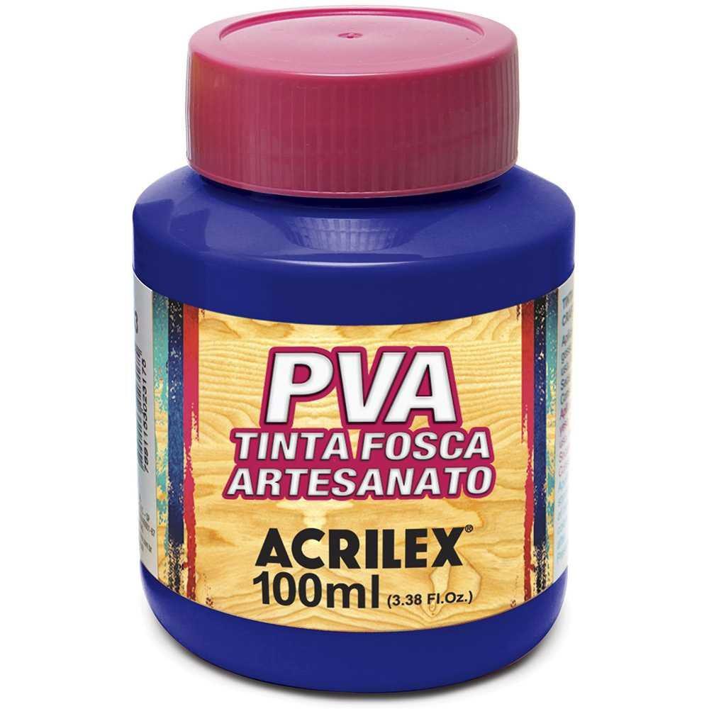 Tinta PVA p/ artesanato azul turquesa 100ml 03210