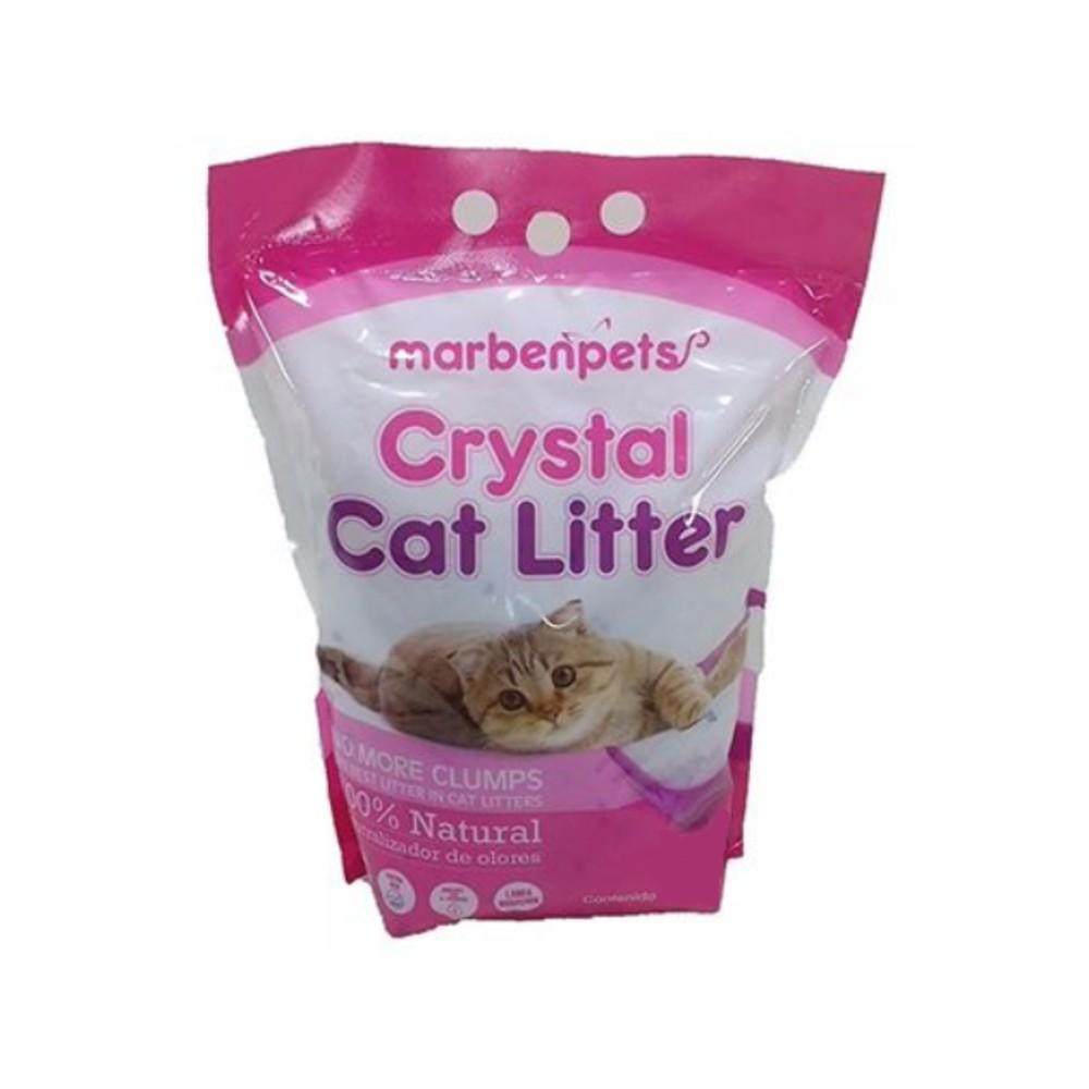 Crystal cat litter 100% natural neutralizador de olores
