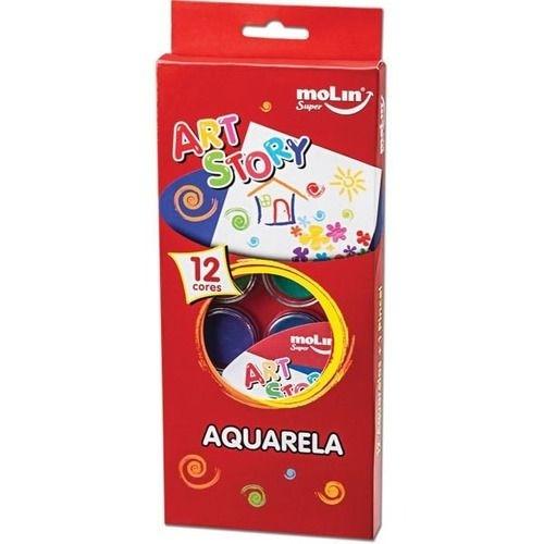 Aquarela 12 cores + 1 pincel 18385