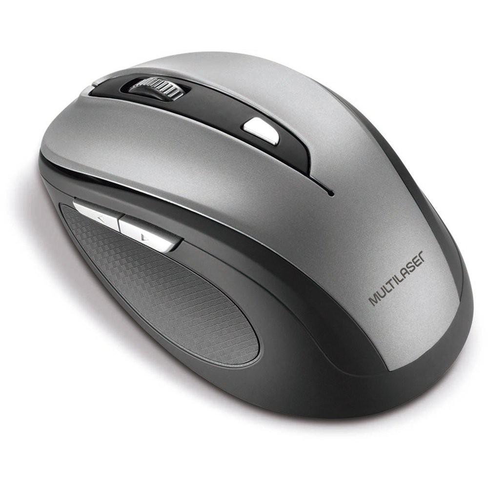 Mouse sem fio preto/cinza MO238  Pacote 1 Unidade