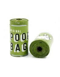Poopa bag- bolsas oxo-biodegradables 15 bolsas de 33 x 23 cm