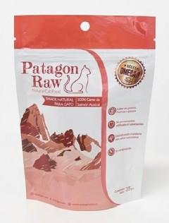 Snack natural para gatos 100% carne de salmon austral