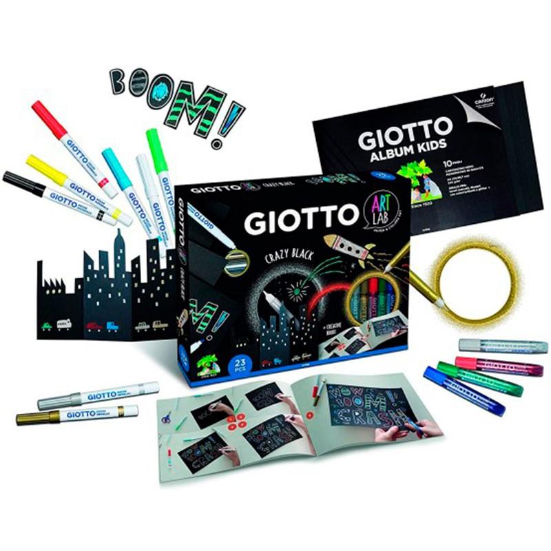 Set Giotto Black +3 años