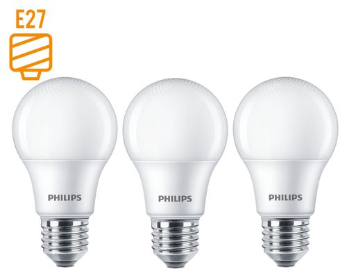 Ampolletas Essential led luz fría 7.5w e27