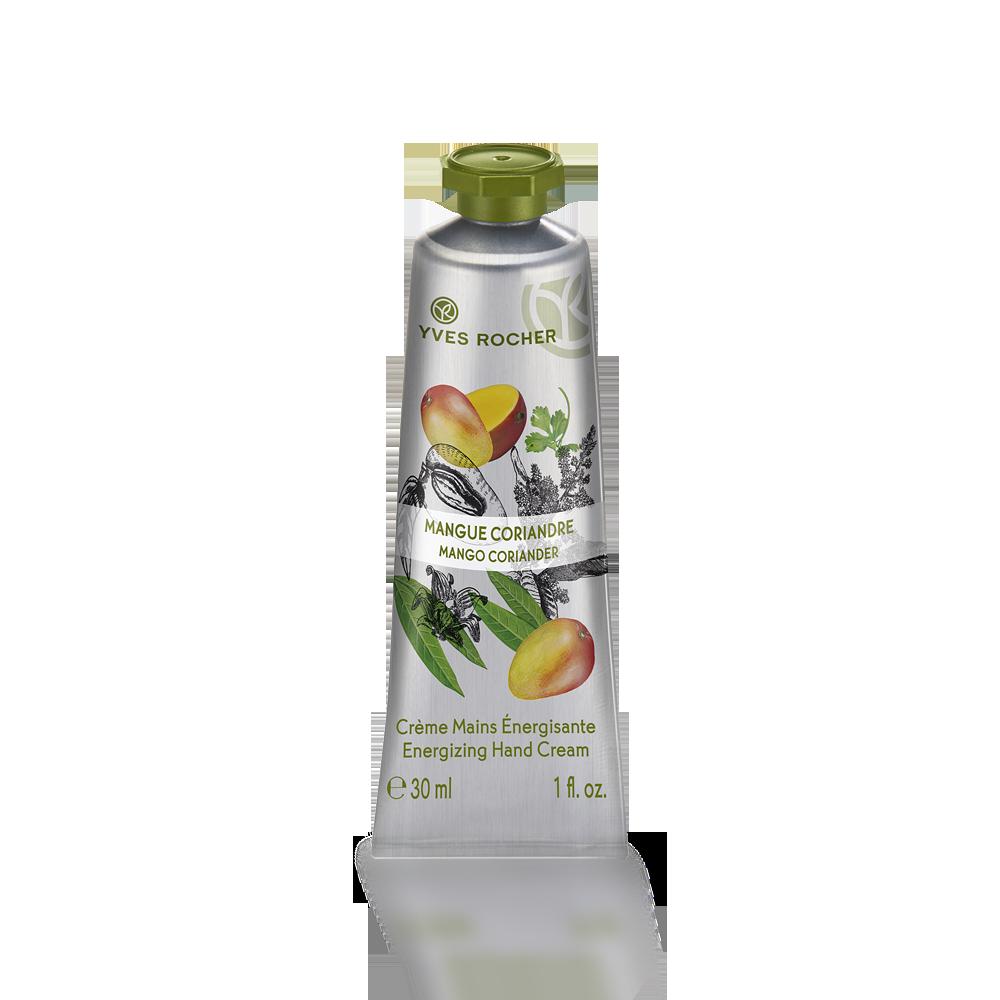 Crema de manos mango y cilantro 30 ml