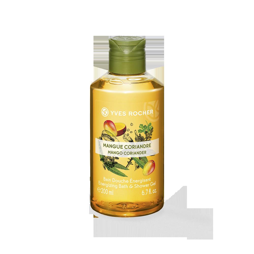 Gel de ducha corporal mango y cilantro 200 ml