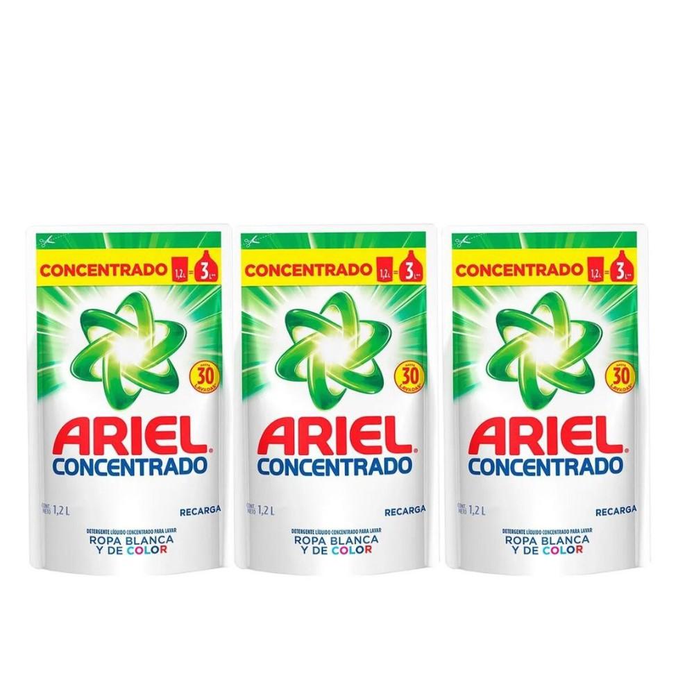 Detergente líquido ariel doypack