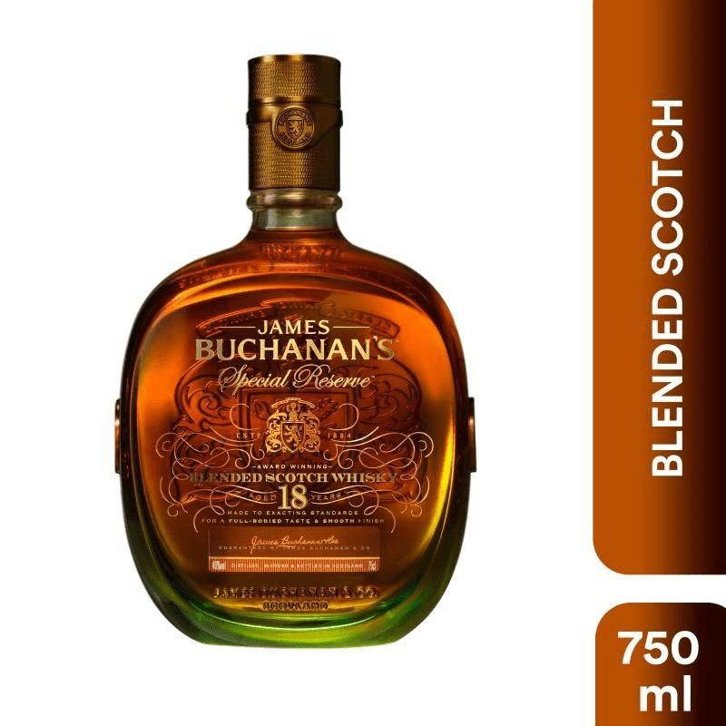 Whisky reserva especial 18 años
