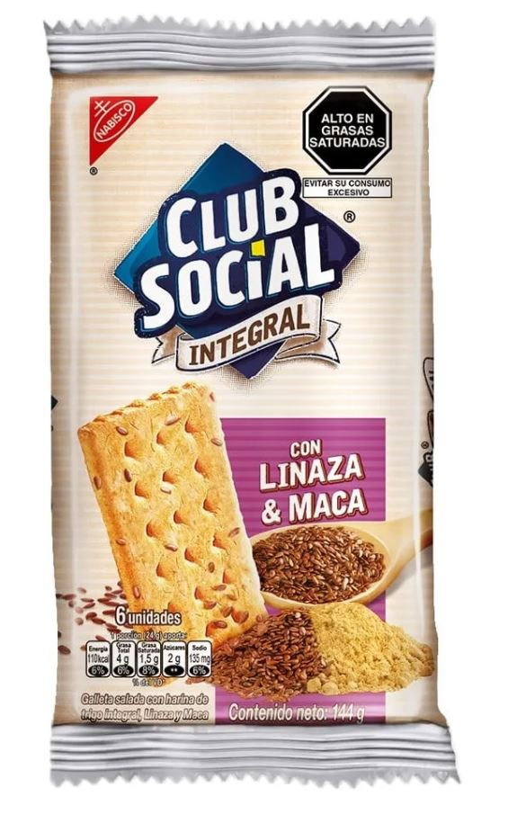 Galleta linaza y maca