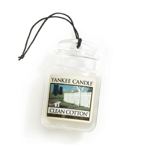 Aromatizador auto car jar ultimate clean cotton