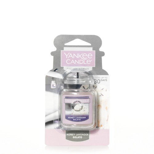 Aromatizador auto car jar ultimate honey lavender gelato