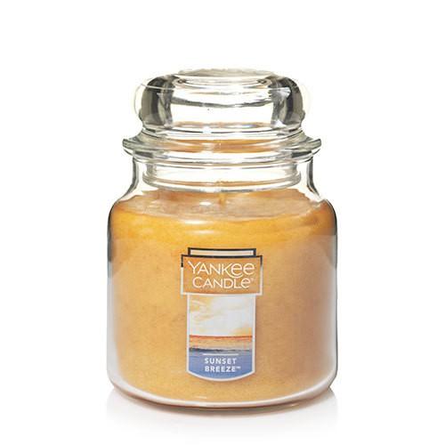 Vela aromática jar mediana sunset breeze Frasco Jar Mediano 820 g