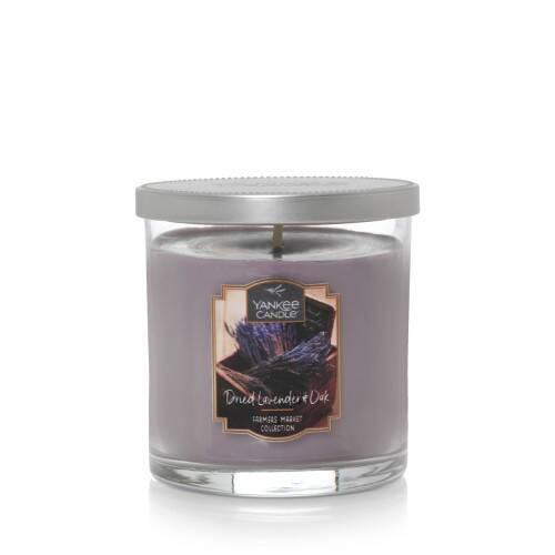 Vela aromática tumbler mediana dried lavender & oak Vaso Tumbler 440 g