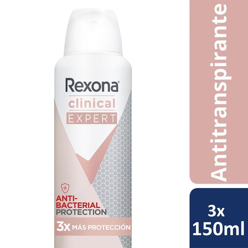 Desodorante aerosol clinical expert women
