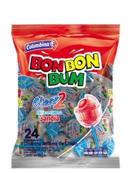 Bonbonbum chupete clear