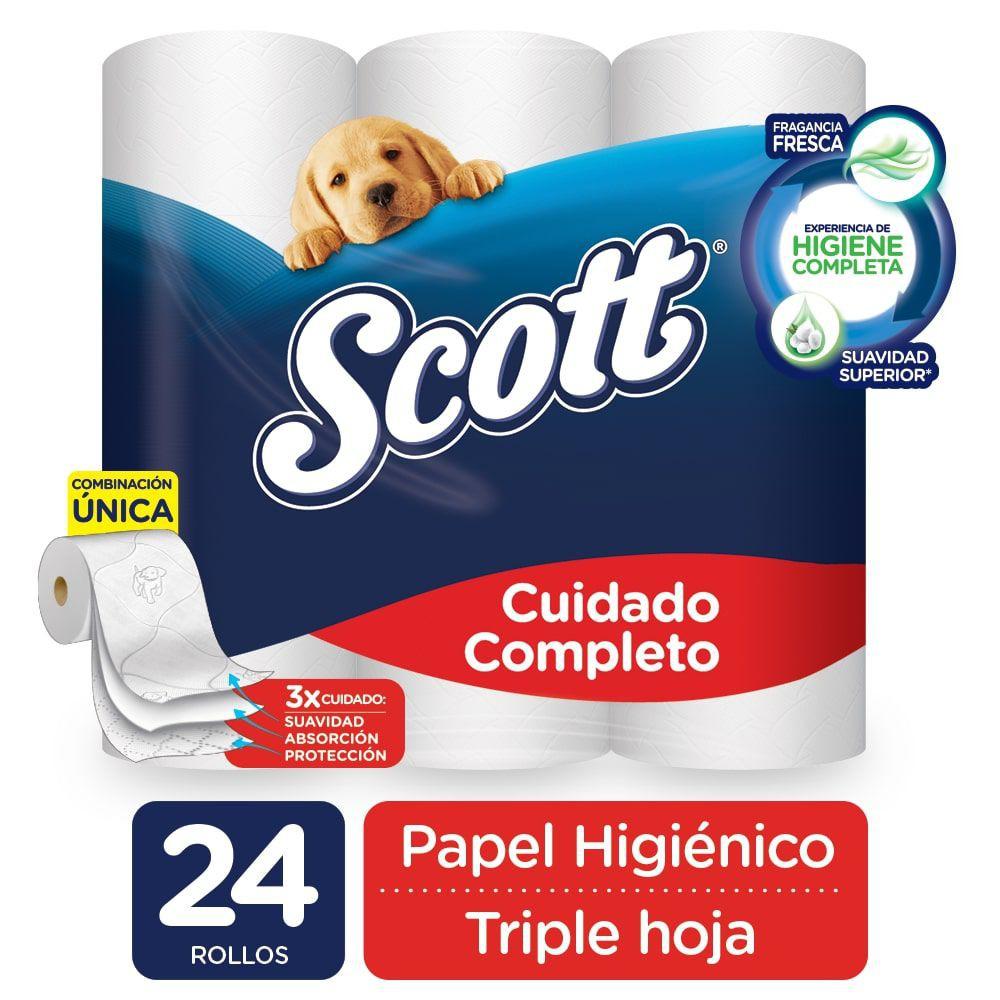 Papel higiénico triple hoja