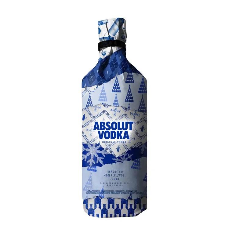 Vodka original navidad