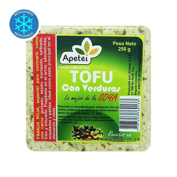 Tofu verduras