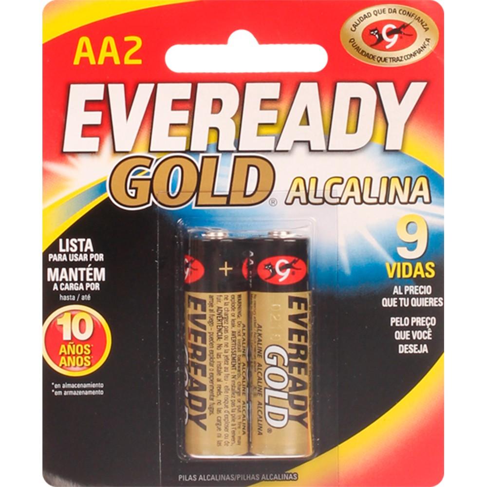 Pilas Gold alcalinas AA 2 und