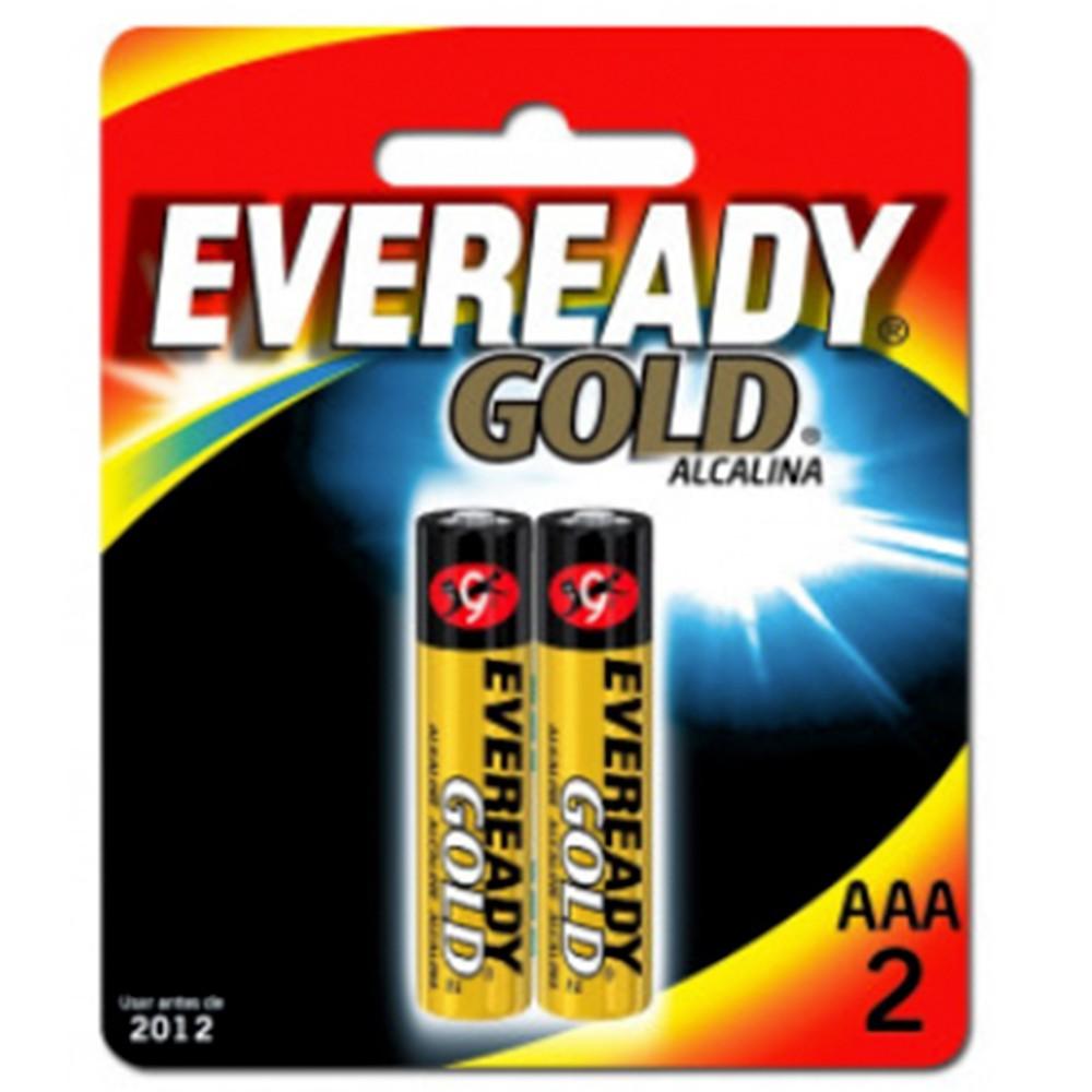 Pilas Gold alcalinas AAA 2 und