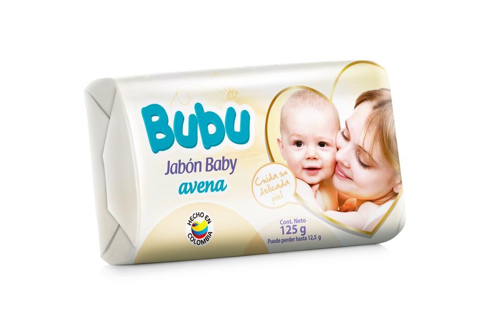 Jabón bubu avena