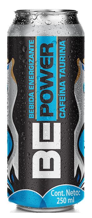 Bebida energizante be power lata