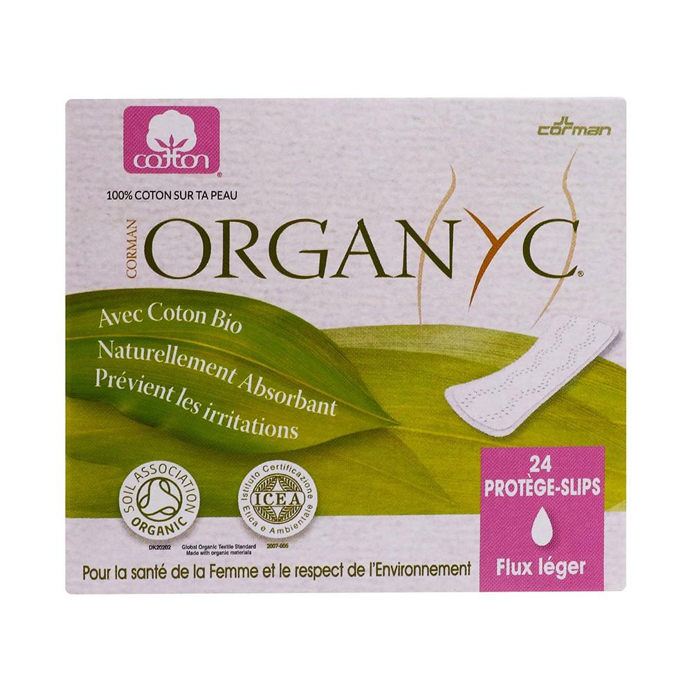 Organic cotton pantyliner light flow