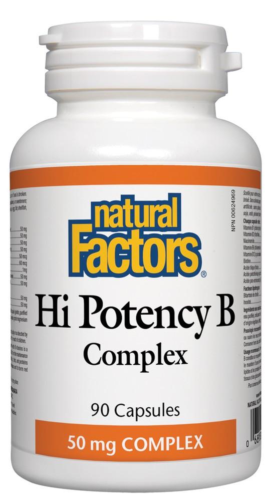 Hi potency B capsules complex