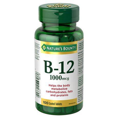 Vitamin B12 1000 mcg  Tablets