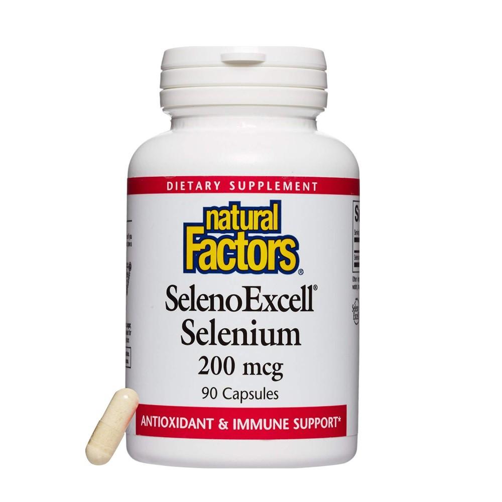 Seleno excell selenium 200 mcg 90 units