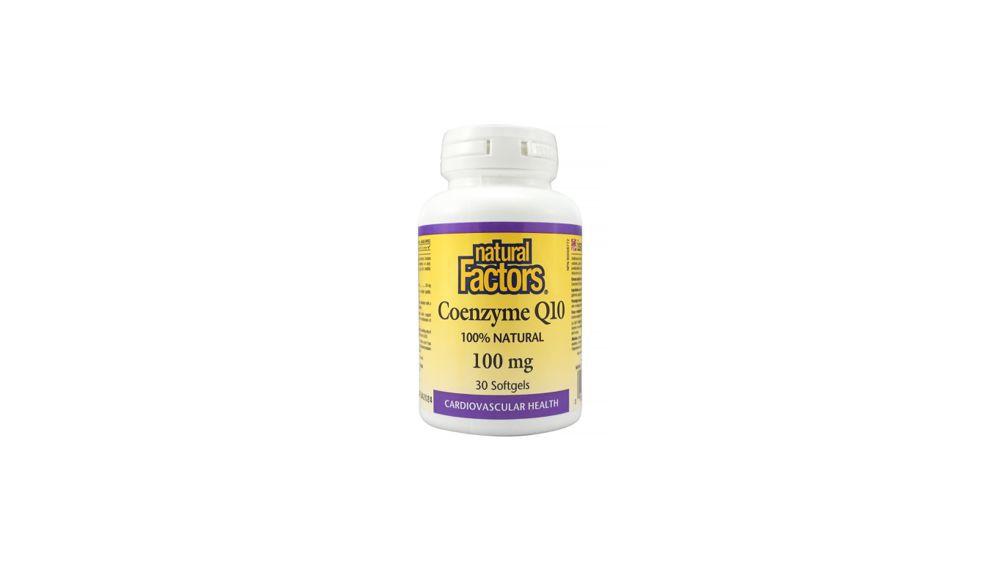 Coenzyme Q10 100 mg Softgels 30ct
