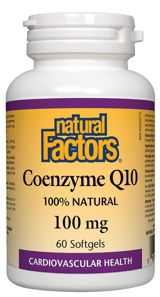 Coenzyme Q10 100 mg Softgels  60ct