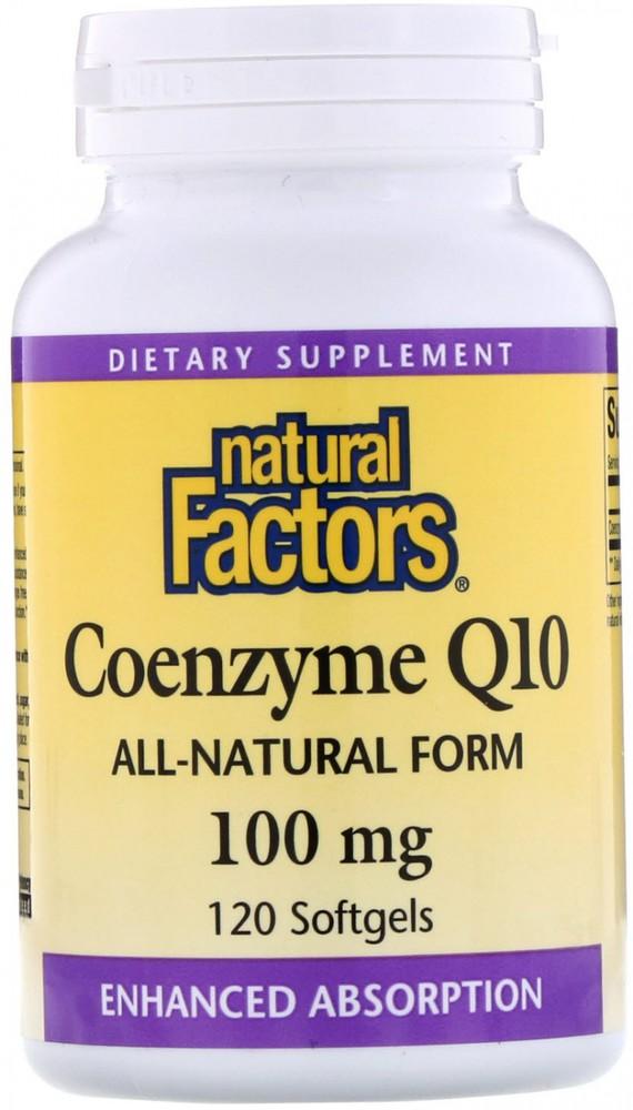 Coenzyme Q10 100 mg Softgels