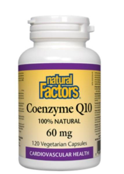 Coenzyme Q10 60 mg capsules