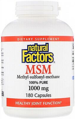 MSM (Methy-sulfonyl-methane) 1000 mg capsules