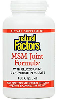 MSM joint formula capsules