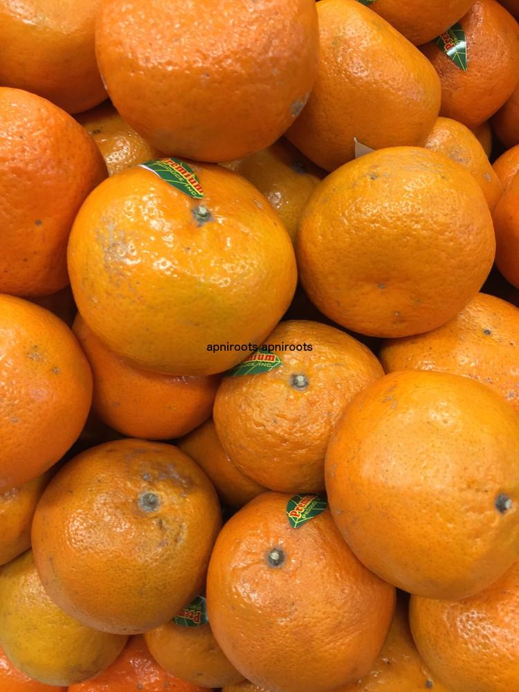 Orange tangerine small